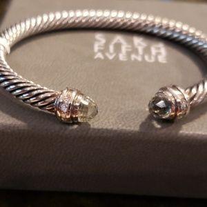 🔥NWT David Yurman Prasiolite 5mm cable bracelet